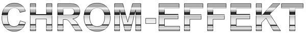 Fertig: Chromeffekt mit Airbrush malen